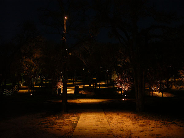 Garden Lighting Dallas Fort Worth Texas