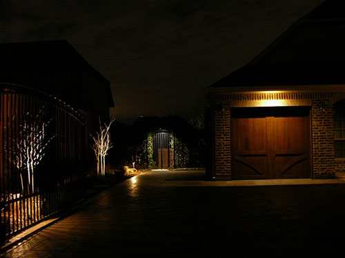 outdoor security lighting dallas fort worth arlington north richland hills