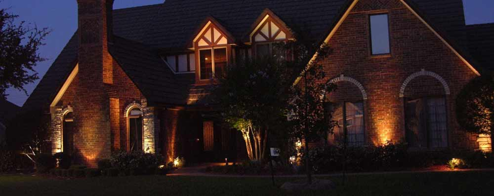Exterior Lighting Coppell Texas