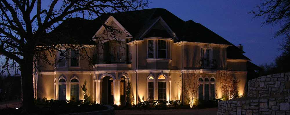 Exterior Lighting Colleyville Texas