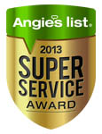 Angies's list Super Service Award