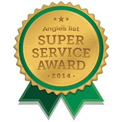 Angles List Super Service Award 2014