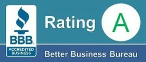A Rated by BBB Logo