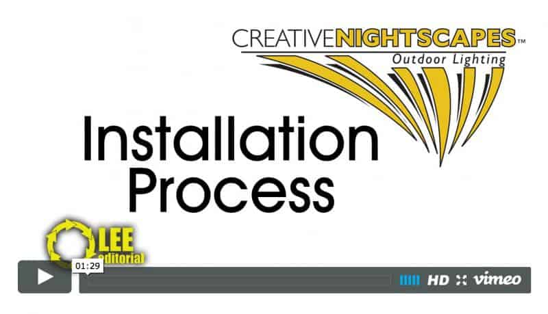 Creative NightScapes Installation Process Video