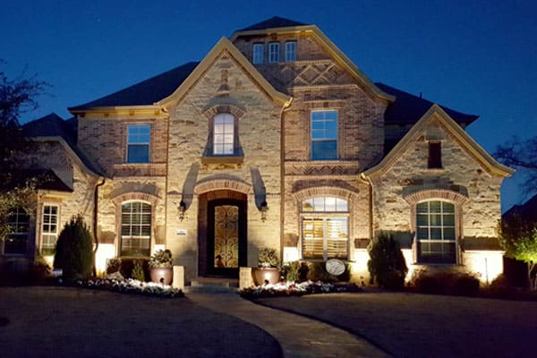 Outdoor Lighting Dallas Fort Worth Creative Nightscapes