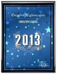 Creative Nightscapes wins best of fort worth 2013