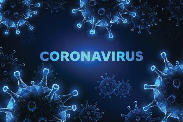 Closeup of the COVID-19 Coronavirus